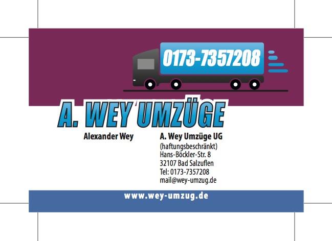 A. Wey Umzüge UG